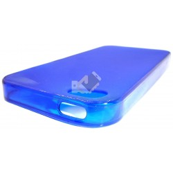Capa de Gel Azul Iphone 5...