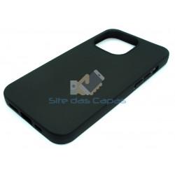 Capa Gel Preto Iphone 13 Pro