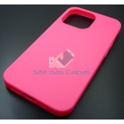 Capa Gel Rosa Iphone 13 Pro