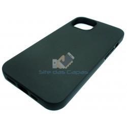 Capa Gel Preto Iphone 13