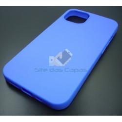 Capa Gel Azul Iphone 13