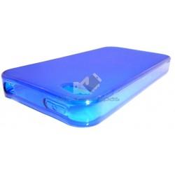 Capa de Gel Azul Iphone 4 4S