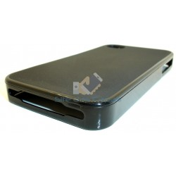 Capa de Gel Preto Iphone 4 4S