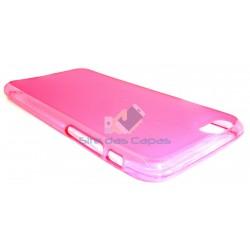 Capa de Gel Rosa Iphone 6 6S