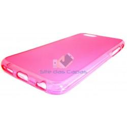 Capa de Gel Rosa Iphone 6 Plus