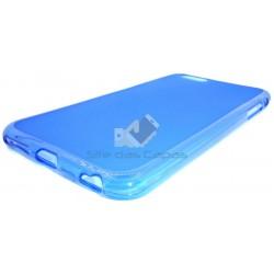 Capa de Gel Azul Iphone 6 Plus