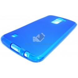 Capa de Gel Azul LG K10