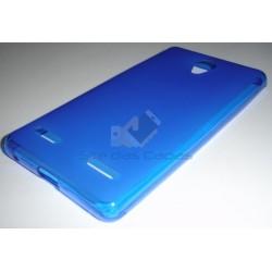 Capa de Gel Azul ZTE Blade L7