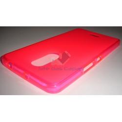 Capa de Gel Rosa Alcatel A3 XL