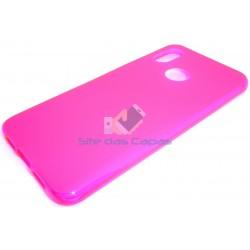 Capa de Gel Rosa Xiaomi Mi 8