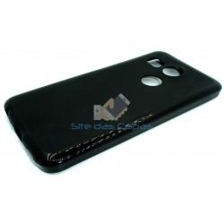 Capa de Gel Preto Nexus 5X