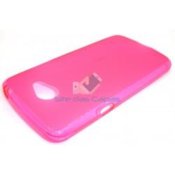 Capa de Gel Rosa LG K5