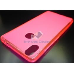 Capa de Gel Rosa BQ Aquaris X