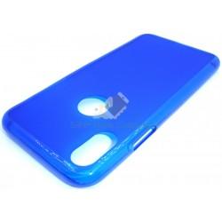 Capa de Gel Azul Iphone X
