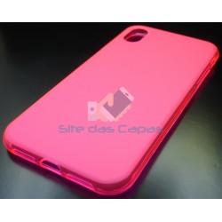 Capa de Gel Rosa Iphone XR