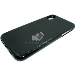 Capa de Gel Preto Iphone XS