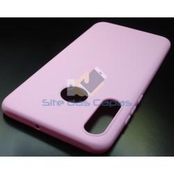 Capa Soft Gel Rosa Huawei...