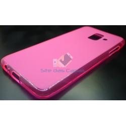 Capa Gel Rosa Samsung...