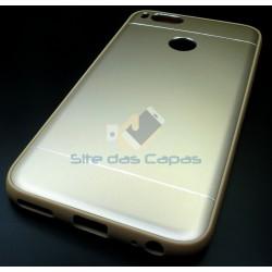 Capa Aluminio Dourado Mi A1...