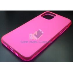 Capa de Gel Rosa Iphone 11 Pro