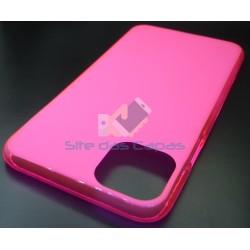 Capa de Gel Rosa Iphone 11...
