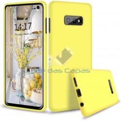 Capa Silky Amarelo Samsung...