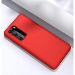 Capa Silky Vermelho Huawei P40