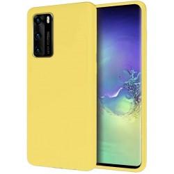 Capa Silky Amarelo Huawei P40