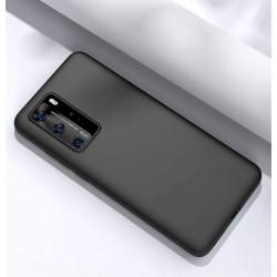 Capa Silky Preto Huawei P40