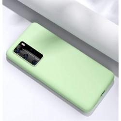 Capa Silky Menta Huawei P40