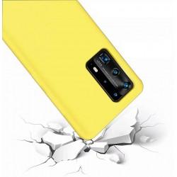 Capa Silky Amarelo Huawei...