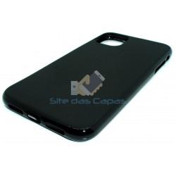 Capa de Gel Preto Iphone 11