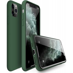 Capa Silky Verde Escuro...