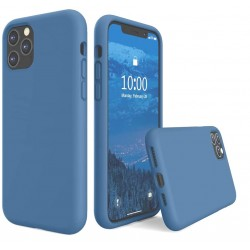Capa Silky Azul Iphone 11...