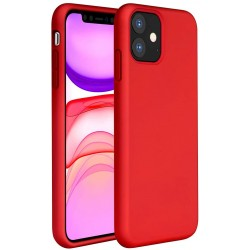 Capa Silky Vermelho Iphone 11