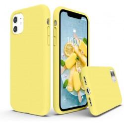 Capa Silky Amarelo Iphone 11