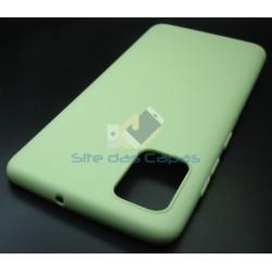 Capa Soft Gel Verde Samsung...