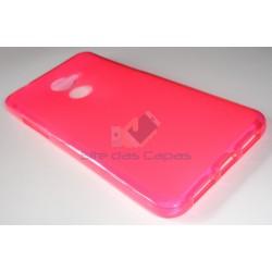 Capa de Gel Rosa Vodafone...
