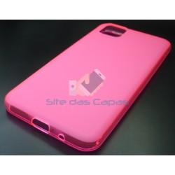 Capa Gel Rosa Huawei Y5P
