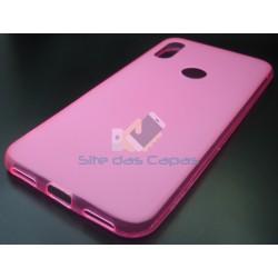 Capa Gel Rosa Huawei Y6S