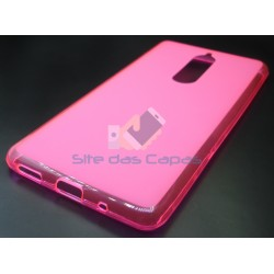 Capa Gel Rosa Nokia 5.1