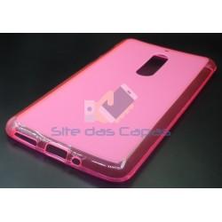 Capa Gel Rosa Nokia 5