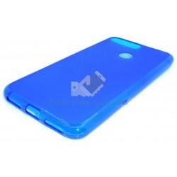 Capa Gel Azul Huawei Y6 2018