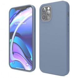 Capa Silky Azul Iphone 12...