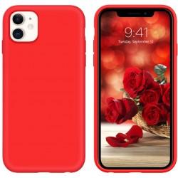 Capa Silky Vermelho Iphone...