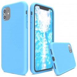 Capa Silky Azul Iphone 12 Mini