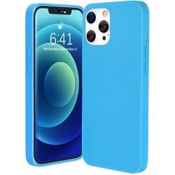 Capa Silky Azul Iphone 12 /...