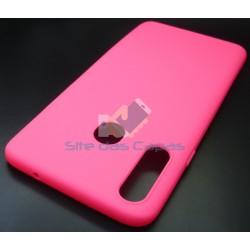 Capa Soft Gel Rosa Samsung...