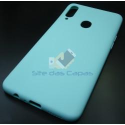Capa Soft Gel Menta Samsung...