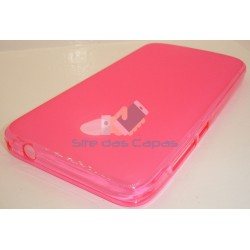 Capa de Gel Rosa Alcatel U5